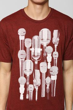 Microphone Tee for cutting