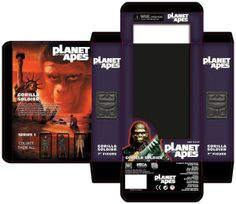 Planet of the Apes box set #packaging