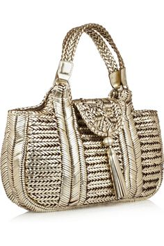 Anya Hindmarch Neeson woven leather tote ....LOVE LOVE LOVE