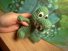 "Leroy Alligator Amigurumi Stuffed Reptile Free Pattern (click ""download"")"