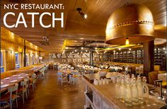 CATCH-NYC-RESTO  ny restaurante