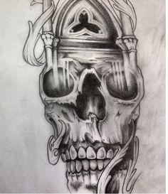 #skull #tattoo #art #sketch #drawing Design, Skull, Drawings, Painting, Art, Character, Tattoo Designs