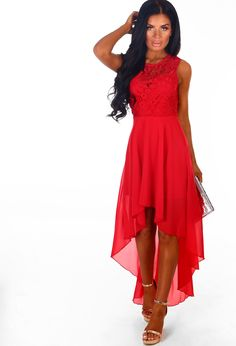 Shop women's occasion dresses and maxi dresses at Pink Boutique - get wedding guest ready with red dresses and crochet dresses! Chiffon Maxi Dress, Chiffon Fabric, Maxi Dresses, Red Occasion Dresses, Crochet Dresses, Crochet Top, Dancer, Graduation, Prom