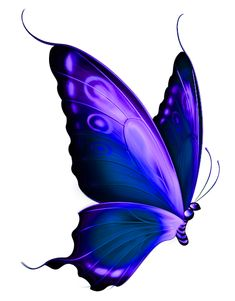 Transparent Blue and Purple Deco Butterfly PNG Clipart tatoo Purple Butterfly Tattoo, Butterfly Clip Art, Butterfly Drawing, Butterfly Pictures, Butterfly Painting, Purple Butterfly Wallpaper, Simple Butterfly, Butterfly Pattern, Monarch Butterfly