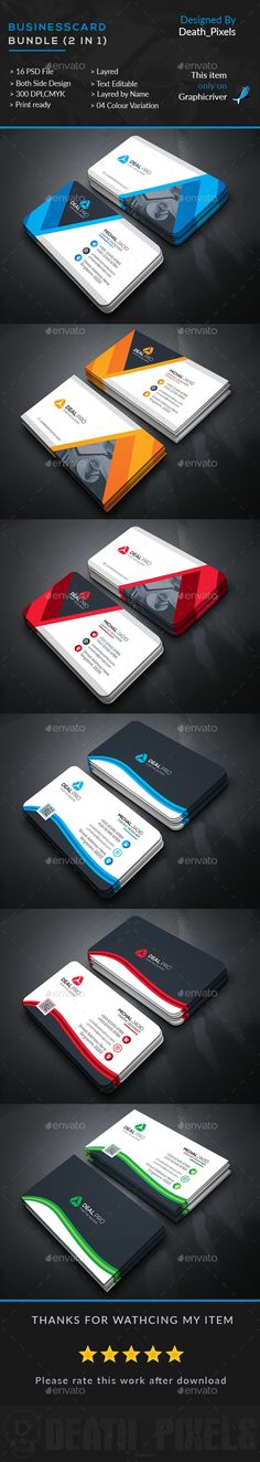 Business Card Bundle in - Business Cards Print Templates
