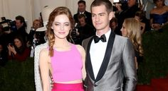 #EmmaStone and real-life boyfriend (and Spidey love interest) Andrew Garfield at the MET Gala 2014 http://news.softpedia.com/news/Emma-Stone-Gets-Candid-on-Her-Struggle-to-Gain-Weight-440952.shtml