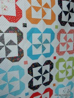 Quilt Patterns   Pinwheel Posies & Starry Night   A Quilting Life - a quilt blog