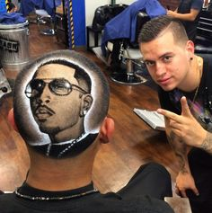 Incredible Barber Trims Works of Art On To People's Heads