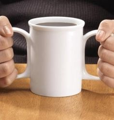 "Granny Jo Dignity Mug - a wonderful gift for a ""shaky"" senior citizen!  I will probably need this."