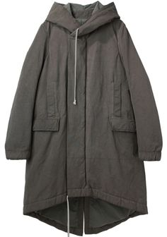 e09d8635da2 D RK SH D W by Rick Owens  Hooded Parka Hooded Parka
