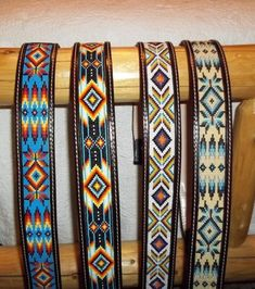 These belts are hand