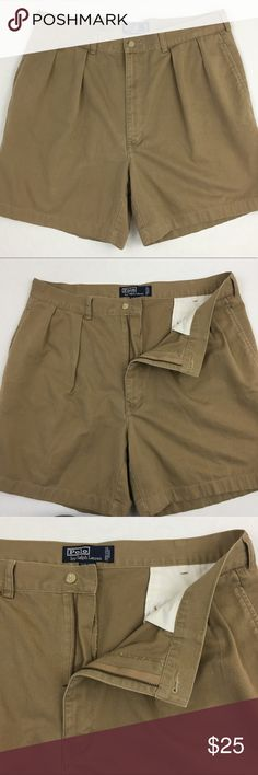 """Polo Ralph Lauren Tyler Short Mens 34 Waist Cotton Brand: Polo by Ralph Lauren Detail: Tyler Short, Polo Chino Condition: This item is in Good Pre-Owned Condition! There are NO Major Flaws with this item, and is free and clear of any Noticeable Stains, Rips, Tears or Pulls of fabric. Overall This Piece Looks Great and you will love it at a fraction of the price!  Material: 100% Cotton  Size: 34 Waist Measurements: Inseam: 6.5 Length: 18""""  💥Top Rated Seller 💥Top 10% Seller 💥10% Discount…"""