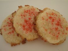 Cream Cheese Cookies - they're Santa's favorite!
