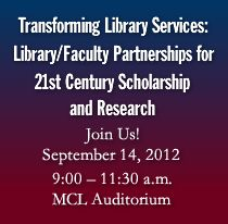 For more information see http://www.twu.edu/downloads/library/Library_Forum.pdf