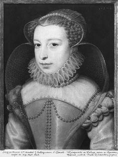 "Francois Clouet, ""Marguerite de Valois (1553-1615) Queen of Navarre, known as Queen Margot, aged 17, 1570"","