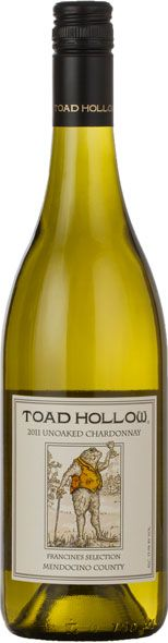 Toad Hollow Vineyards Unoaked Chardonnay 2013 - Cali - $13, TheKitchn