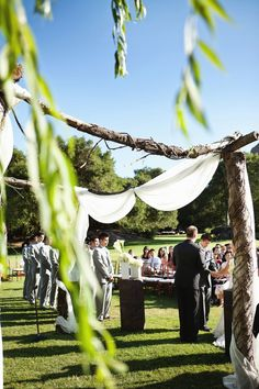 A Spectacular Outdoor Wedding in Malibu | OneWed