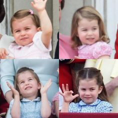 🇬🇧 Princess Charlotte at the balcony of Buckingham Palace because of Trooping of the Colours 2016 - 2019 🇩🇪 Prinzessin Charlotte auf dem… Princess Katherine, Royal Princess, Princess Diana, Duchess Kate, Duke And Duchess, Duchess Of Cambridge, Duke William, Prince William, Trooping Of The Colour
