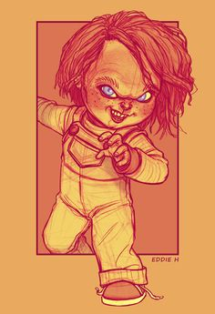 YOUR FRIEND TILL THE END - CHUCKY by *EddieHolly on deviantART