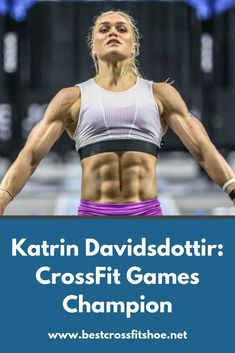 Katrin Tanja Davidsdottir is a CrossFit Games winner. Find out her tips and tricks, stats, diet plan and more. Crossfit Games, Crossfit Athletes, Online Fitness, Muscle Building Women, Crossfit Motivation, Best Ab Workout, Best Abs, Muscular Women, Workout Aesthetic