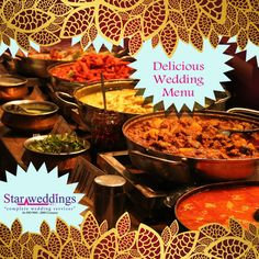 Best ‪#‎Catering_Services‬ The most defining thing of an ‪#‎Indian_Wedding‬ has to be the variety of food offered. Our Chef's will help you in choosing the most suitable menu for both ‪#‎Table‬ and ‪#‎Buffet_services‬ with the perfect and scrumptious meal for your beloved guests. Reach us for the Delicious Wedding Menu !! ‪#‎StarWeddings‬ We are the ‪#‎Superstar‬ in Weddings call us at +919600006335 to hire us / visit www.starweddings.in