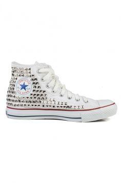 9d1e159b39b7 Studded chuck taylors Studded Sneakers