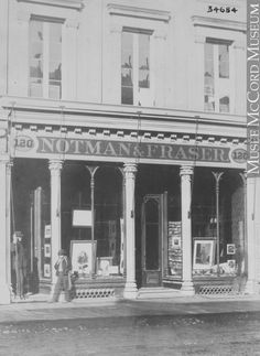 Notman and Fraser Photographic Studio 1868 Toronto Canada, Photographic Studio, Photo Essay, Marina Bay Sands, Online Art, Vintage Photos, 19th Century, Toronto, Culture