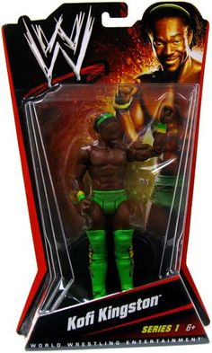 Here's your chance to gear up like your favorite WWE Superstar. This is the first ever assortment of basic figures from Mattel. Wwe Toys, Wwe Action Figures, Wwe Elite, Wwe Superstars, Kingston, Wrestling, Image, Basketball, Link