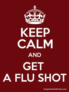 Image result for flu shot reminder poster