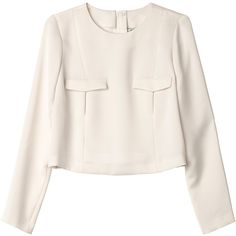 Monki Kelly blouse (1.090 RUB) ❤ liked on Polyvore featuring tops, blouses, shirts, wondrous white, shirts & tops, white blouse, white shirt, shirts & blouses and white tops