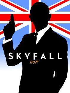 alt Skyfall poster By JAMES-MI6