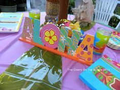 Hawiian Themed Party on The Cherry On Top Events Party Blog