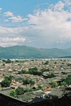 View of Lijiang Old Town | photography by http://www.fionacaroline.com/