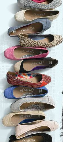 Ballet flats from Toms!