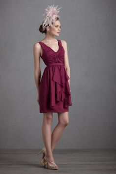 NEW Anthropologie $250 BHLDN VIVACITY SHIFT 4 Bridesmaid Dress Special Occasion