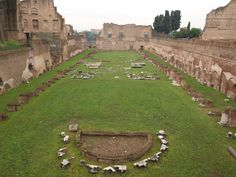 Rome, Italy ~ The Palatino (near the Colosseum, really awesome ruins here)