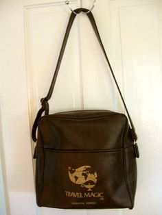 Vintage TRAVEL MAGIC Flight Bag Carry On by TheTinRoofCottage, $20.00 Use Coupon Code SALE4 for 10% off
