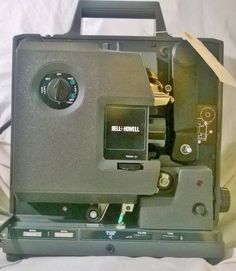 This item I present today is a Vintage Bell & Howell 16mm Filmosound Model 2585 Projector.  It is in great condition.