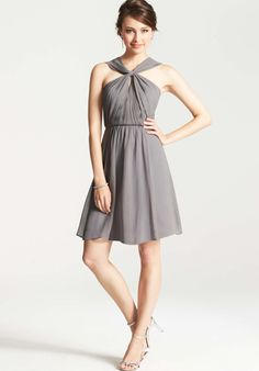 I LOVE the neckline on this one... It's Ann Taylor, I bet you can find somewhere to try it on. anyone like this one?