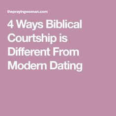 Dating and courtship the christian way farm