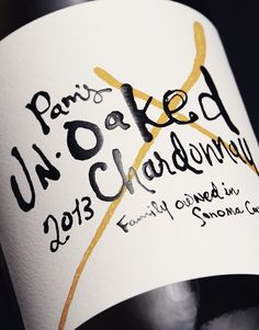 CF Napa Brand Design - Pam's Unoaked Chardonnay - CF Napa