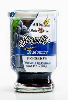 Blueberry Preserve 11 oz. Country Classic