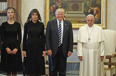 Trump's Vatican Visit Blessed The Internet With The Greatest Photo Of All Time