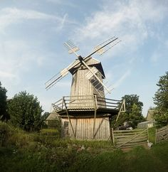 Dutch windmill, Poland, podlasie