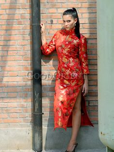 45 Best Chinese dress/Plus size/customize dress images ...
