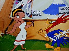 An Indian maiden and a shocked Woody Woodpecker | Scalp Treatment (1952) | Directed by Walter Lantz | Via Don M. Yowp on Tralfaz