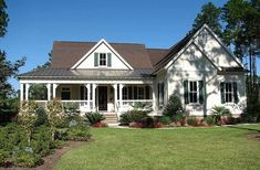 [ Country House Plans And Designs Builderhouseplans Porches Style With Hanley Wood Home ] - Best Free Home Design Idea & Inspiration Style At Home, Country Style House Plans, Craftsman Style House Plans, Cottage House Plans, Cottage Homes, House Floor Plans, Cottage Style, Tudor Cottage, Craftsman Houses
