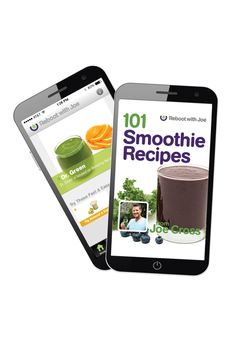 Joe's latest book, 101 Smoothie Recipes, is now available for the iPhone. $14.99
