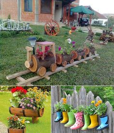 5 Cool Planter Ideas for Your Garden to Welcome Spring - http://www.amazinginteriordesign.com/5-creative-planter-ideas-garden-welcome-spring/