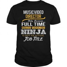 Awesome Tee For Music Video Director T Shirts, Hoodies. Get it now ==► https://www.sunfrog.com/LifeStyle/Awesome-Tee-For-Music-Video-Director-117803048-Black-Guys.html?41382